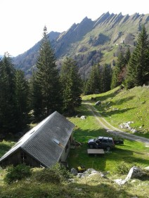 untere Alphütte