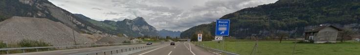 Autobahnausfahrt